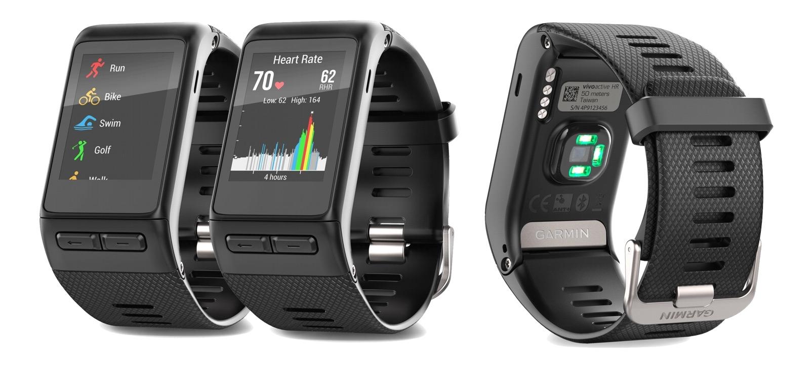 Vivoactive HR  Zcela nové chytré hodinky jsou rychlejší a měří tep ... dc2d79d8c1c
