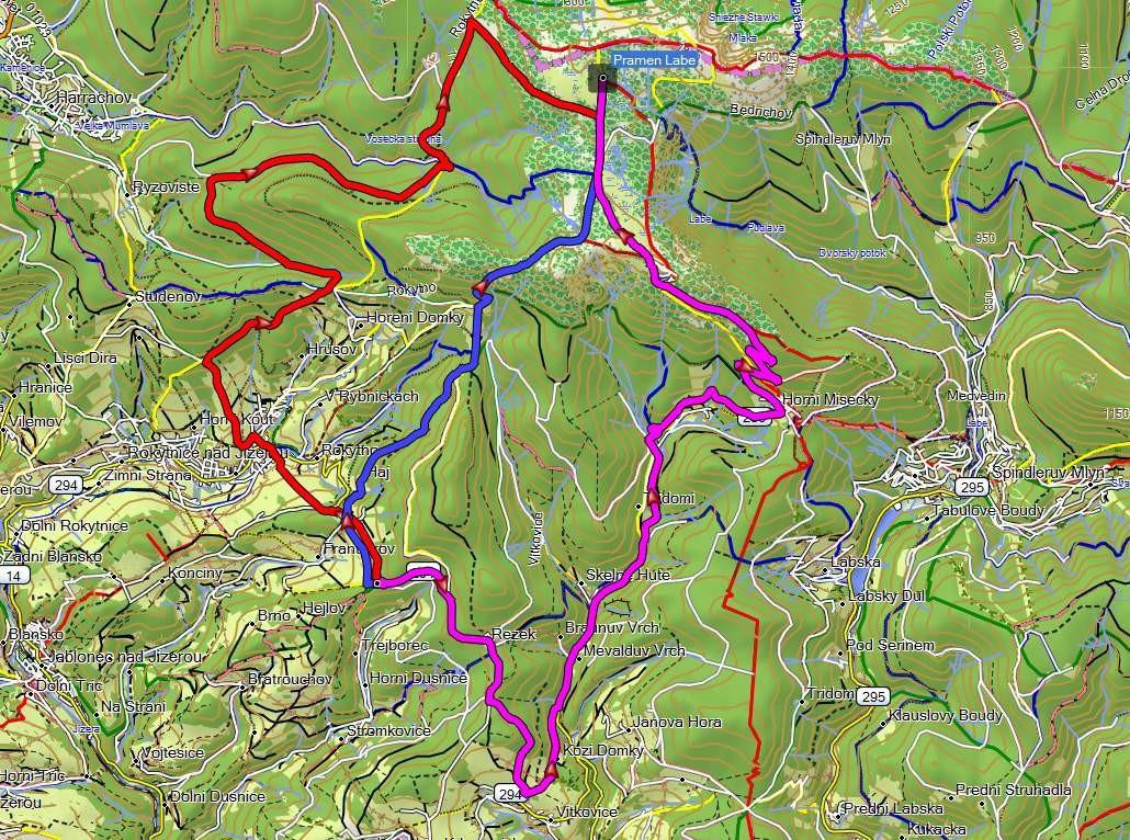 Nova Turisticka Mapa Topo Czech 2017 Je Konecne Tady Zivot S