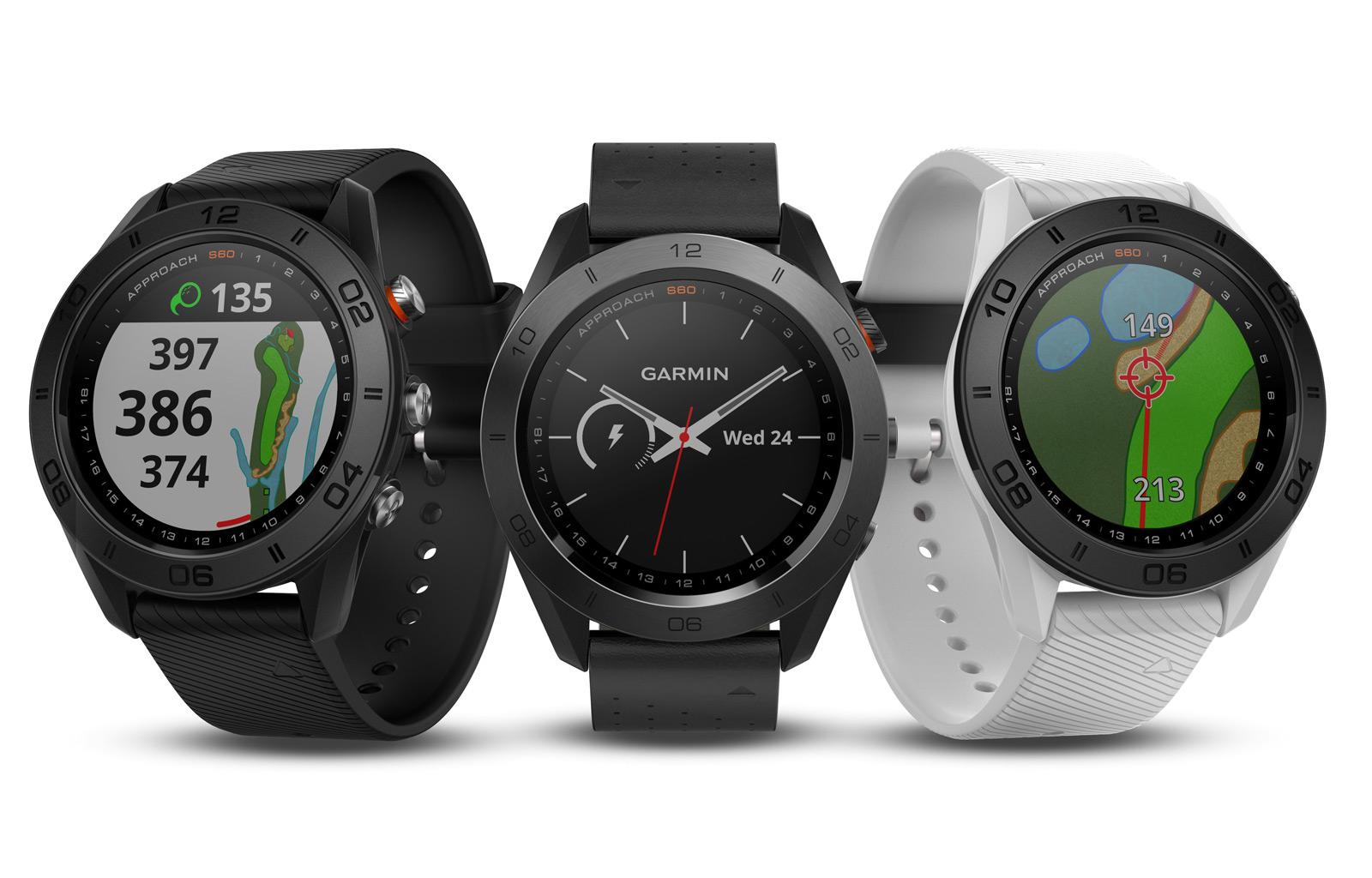 Approach S60. Designově vycházejí hodinky Approach S60 z modelu Fénix 5 ... 4e8d7b1cb8