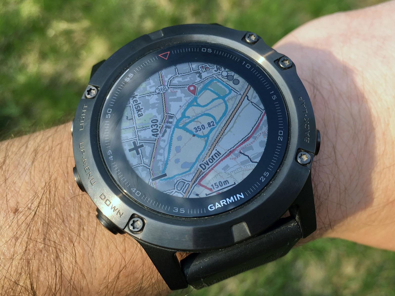 104dba716 Mapové hodinky Fénix 5X: recenze, navigace, srovnání, parametry ...