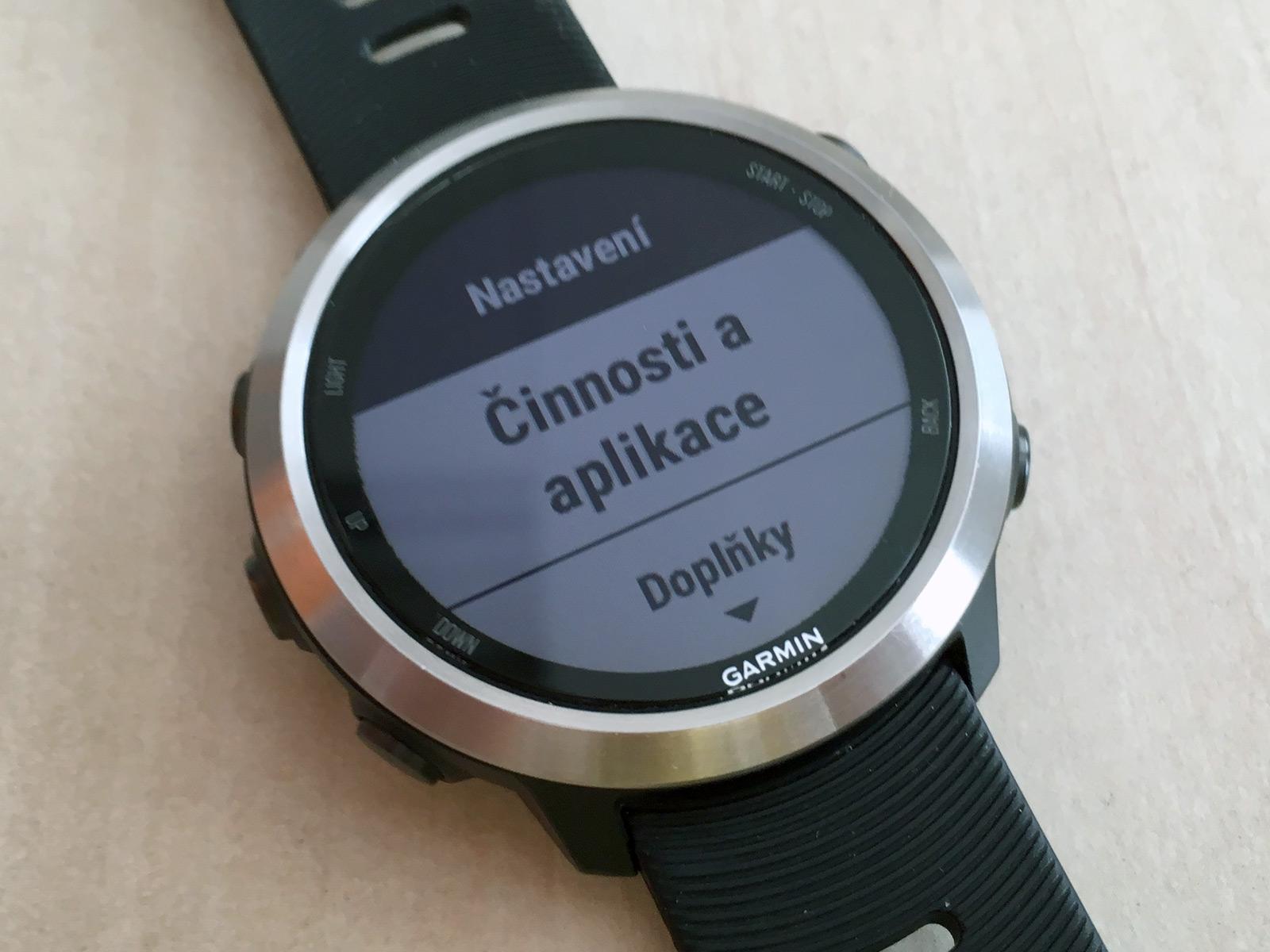0ebbba44335 Recenze Forerunner 645 Music  První hodinky Garminu s přehráváním ...