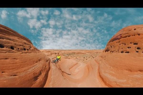 Embedded thumbnail for Virb 360 natáčí parádní videa. Podívejte se na ukázku z americké skalní oblasti v Moab